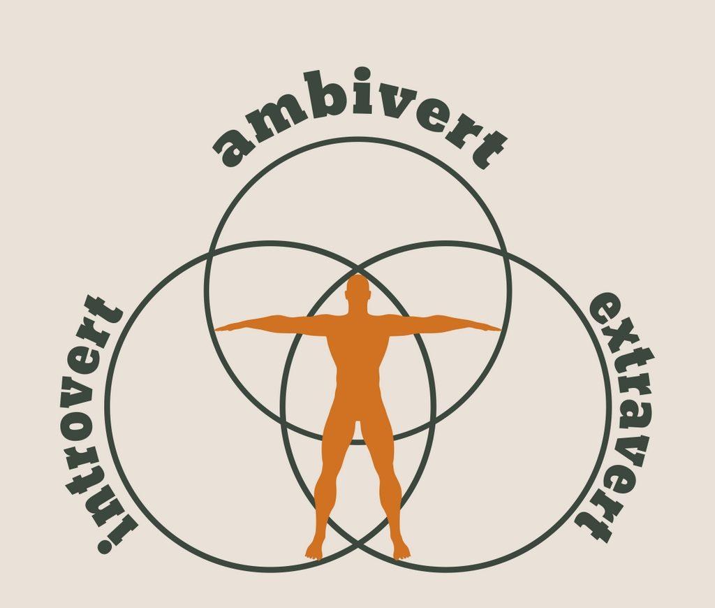 Introvert extravert ambivert