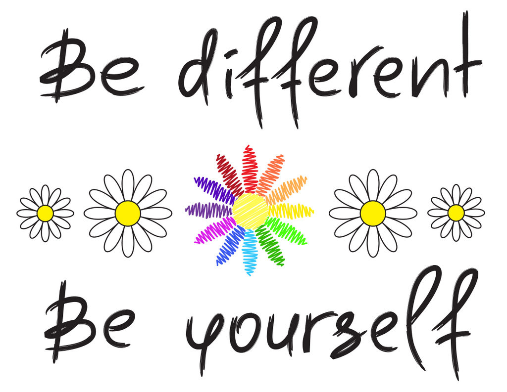 Be different be yourself